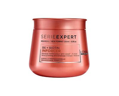 Loreal Professionnel Posilující maska proti lámavosti vlasů Série Expert (B6 + Biotin Inforcer)