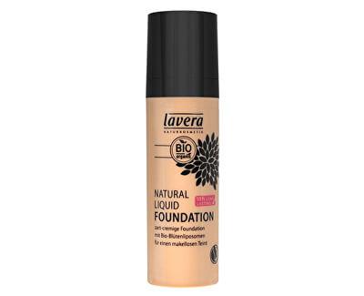 Lavera Přírodní a organický fluidní make-up (Natural Liquid Foundation) 30 ml