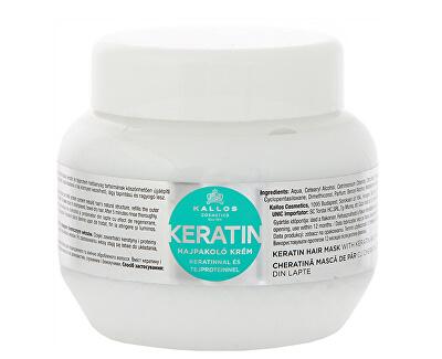Regenerační maska na vlasy s keratinem a mléčnými proteiny (Keratin Hair Mask)