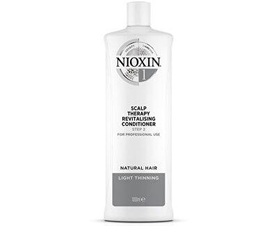 Revitalizér pokožky pro jemné mírně řídnoucí přírodní vlasy System 1 (Conditioner System 1)