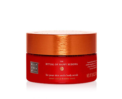 Tělový peeling The Ritual Of Happy Buddha (Body Scrub) 250 g