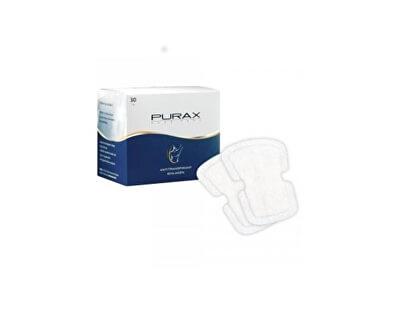 Samolepící jednorázové podpažní vložky Purax 30 ks - SLEVA - pomačkaná krabička