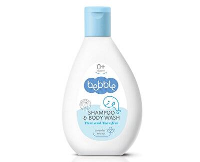 Lavena Šampon a mycí gel pro děti 2v1 Bebble (Shampoo & Body Wash)