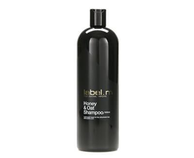 label.m Obnovujúci šampón s medom a ovsom na suché a dehydrované vlasy Honey & Oat (Shampoo)