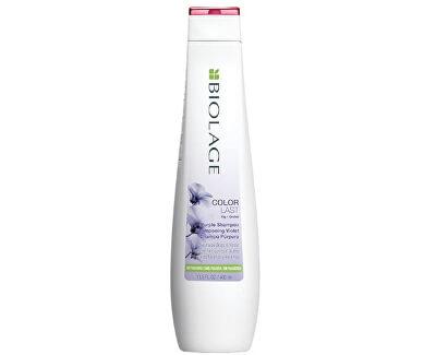 Šampon pro eliminaci žlutých odstínů Color Last (Purple Shampoo) 250 ml