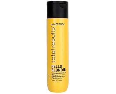 Šampon pro oživení blond vlasů Total Results Hello Blondie