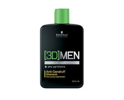 Šampon proti lupům pro muže 3D (Anti-Dandruff Shampoo)