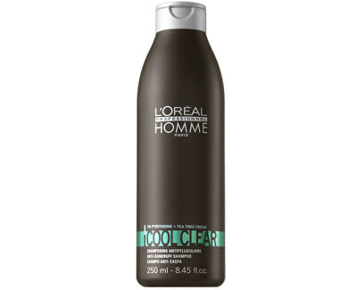 Loreal Professionnel Šampon proti lupům pro muže Cool Clear (Anti-Dandruff Shampoo)