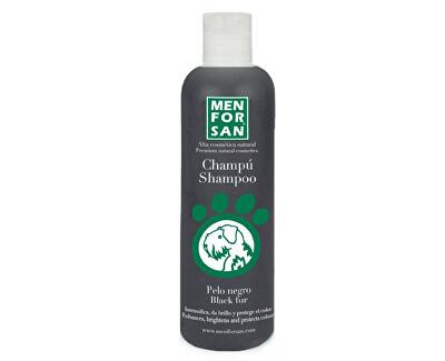 Menforsan Šampon zvýrazňující černou barvu pro psy (Shampoo Black Fur)