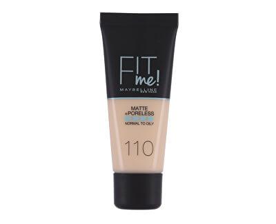 Sjednocující make-up s matujícím efektem Fit Me! (Matte & Poreless Make-Up) 30 ml
