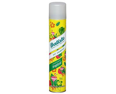 Suchý šampon na vlasy s vůní tropického ovoce (Dry Shampoo Tropical With A Coconut & Exotic Fragrance)