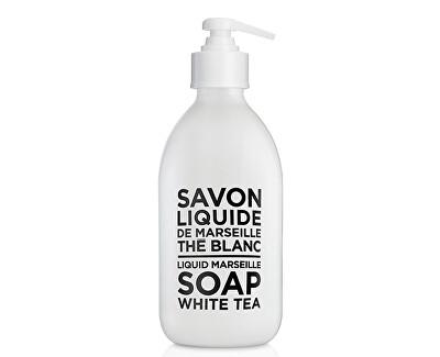 Compagnie de Provence Tekuté Marseillské mýdlo Bílý čaj (Liquid Soap)