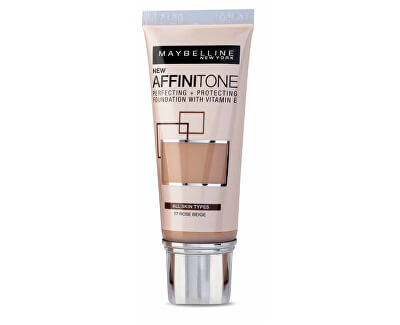 Maybelline Sjednocující make-up s HD pigmenty Affinitone (Perfecting + Protecting Foundation With Vitamin E) 30 ml