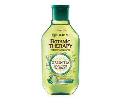 Tonizujúci šampón so zeleným čajom na rýchlo sa mastiace vlasy Botanic Therapy (Tonifying Shampoo)