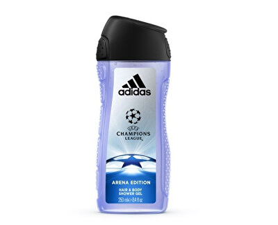 UEFA tusfürdő férfiaknak (Champions League Arena Edition Hair & Body Shower Gel)