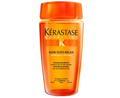 Uhlazující šampon pro suché a nepoddajné vlasy Bain Oléo-Relax (Smoothing Shampoo)