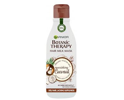 Vyživující maska pro suché, nepoddajné vlasy Botanic Therapy (Hair Milk Mask Nourishing Coconut)