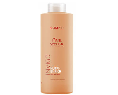 Wella Professional Vyživující šampon pro suché a poškozené vlasy Invigo Nutri-Enrich (Deep Nourishing Shampoo)