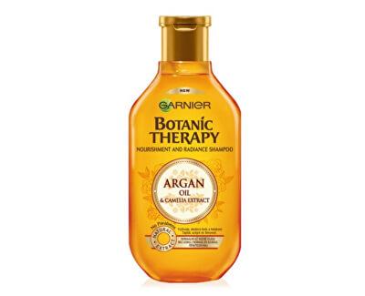 Garnier Vyživující šampon s arganovým olejem a kamélií pro normální až suché vlasy Botanic Therapy (Nourishment And Radiance Shampoo)