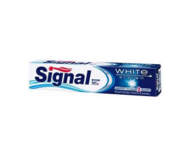 Zubní pasta s bělicím účinkem White System - SLEVA - poškozená krabička