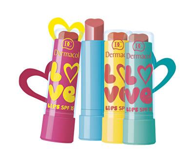 Dermacol Zvláčňující balzám na rty Love Lips SPF 15 3,5 ml