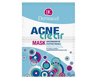Dermacol Adstringentní pleťová maska Acneclear 2 x 8 g