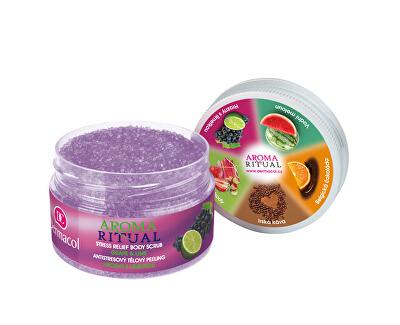 Antistresový tělový peeling hrozny s limetkou Aroma Ritual 200 g