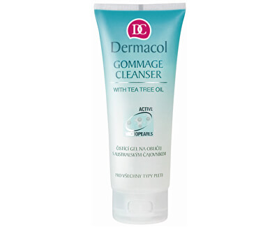 Čisticí gel na obličej (Gommage Cleanser with Tea Tree Oil) 100 ml
