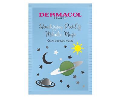 Čisticí slupovací maska (Beautifying Brightening Peel-Off Metallic Mask) 15 ml