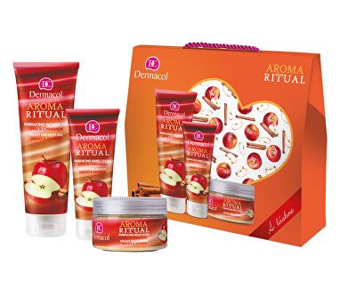 Kosmetická sada Aroma Ritual Jablko a skořice s láskou