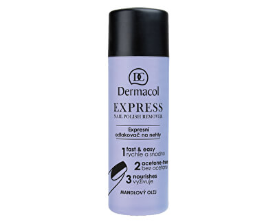 Expresní odlakovač na nehty (Express Nail Polish Remover) 120 ml