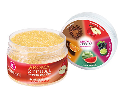 Hřejivý tělový peeling jablko a skořice Aroma Ritual 200 g