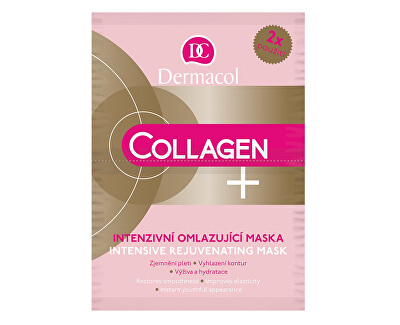 Intenzivní omlazující maska Collagen plus (Intensive Rejuvenating Face Mask) 2 x 8 g