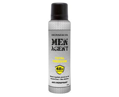 Antiperspirant Men Agent Total Freedom 150 ml