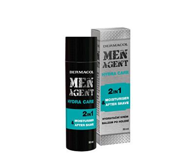 Hydratační gelový krém a balzám po holení Men Agent (Moisturiser After Shave) 50 ml