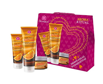 Sada kosmetiky Aroma Ritual - Belgická čokoláda I.