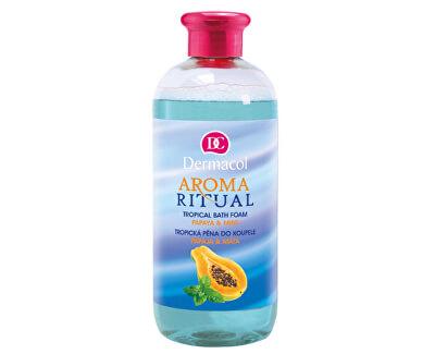 Tropická pěna do koupele Aroma Ritual Papája a máta (Tropical Bath Foam) 500 ml