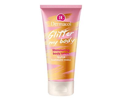 Třpytivé hydratační mléko Glitter My Body (Shimmering Body Lotion) 200 ml