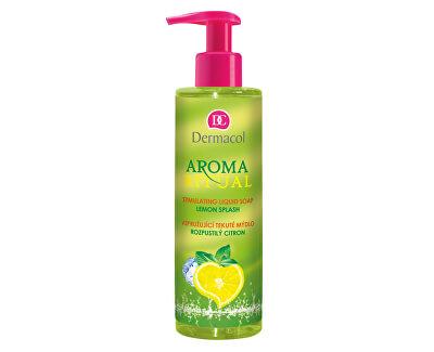 Vzpružující tekuté mýdlo Rozpustilý Citron Aroma Ritual (Stimulating Liquid Soap) 250 ml