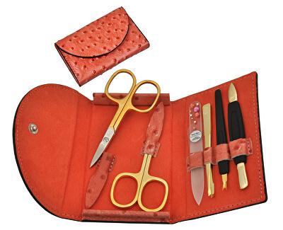 DuKaS Červená manikúra Solingen z umělé kůže PL21503