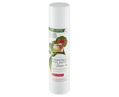 Dezodor Muskátli  Powered by Plants Geranium (24H Deodorant) 75 ml
