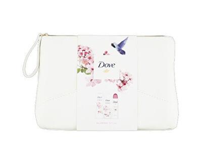 Dárková sada lotosový květ Glowing Ritual (Shower Gel+Body Lotion+Antiperspirant+Cosmetic Bag)