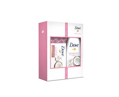Dove Dárková sada tělové péče pro ženy Coconut