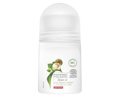 Deodorant roll-on Pelargonie Powered by Plants Geranium (24H Deodorant) 50 ml