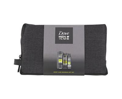 Kosmetická sada péče o tělo pro muže + toaletní taška Men+Care (Active Fresh)
