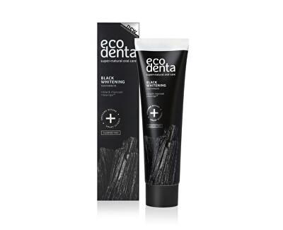 Černá bělicí zubní pasta s uhlím a extraktem Teavigo (Black Whitening Toothpaste) 100 ml
