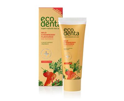 Zubní pasta s jahodovou příchutí pro děti (Wild Strawberry Scented Toothpaste For Children) 75 ml - SLEVA - poškozená krabička