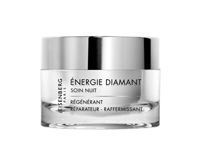 Noční krém Excellence Diamantová energie (Regenerate Repair Firm Night Treatment) 50 ml