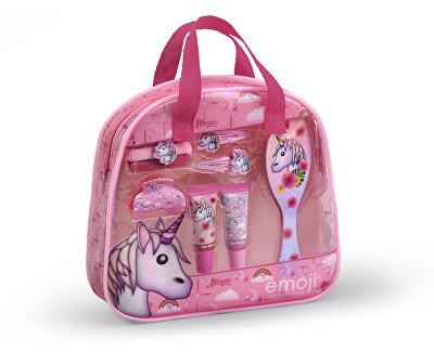Kosmetická sada pro děti s leskem na rty a vlasovými doplňky Unicorn