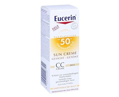 CC krém na opalování na obličej SPF 50+ Medium Dark (Sun CC Creme) 50 ml